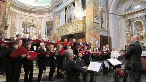 Concert de la Guirlande Musicale en honneur de la délégation Croissy sans Frontières Vallée Imagna
